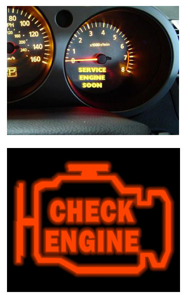 Youu0027re Driving Along In Your Car Or Truck And Suddenly A Red Light  Illuminates On Your Dash Telling You To Check Or Service Your Engine.